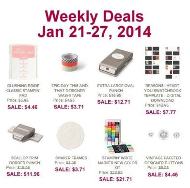 weekly deals Jan 22
